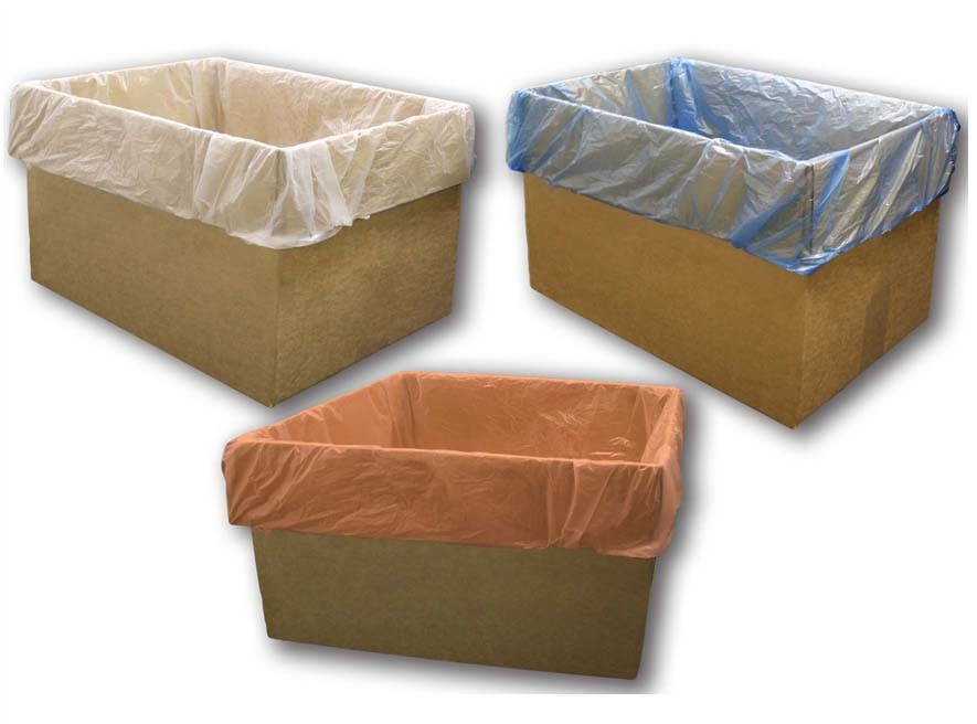 Heavy Duty Carton Liners, Low density, high density and linear polythene film constructed carton liners and bags
